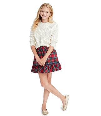 Vineyard Vines Vineyard Vines Youth Girls Bobble Sweater