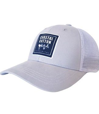 Coastal Cotton Coastal Cotton Structured Trucker Cap White and Cream