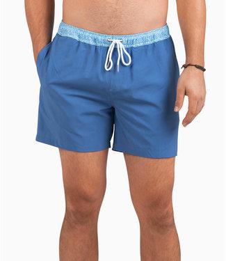 Southern Shirt Co. Southern Shirt Co. Blue Hawaiian Swim Shorts