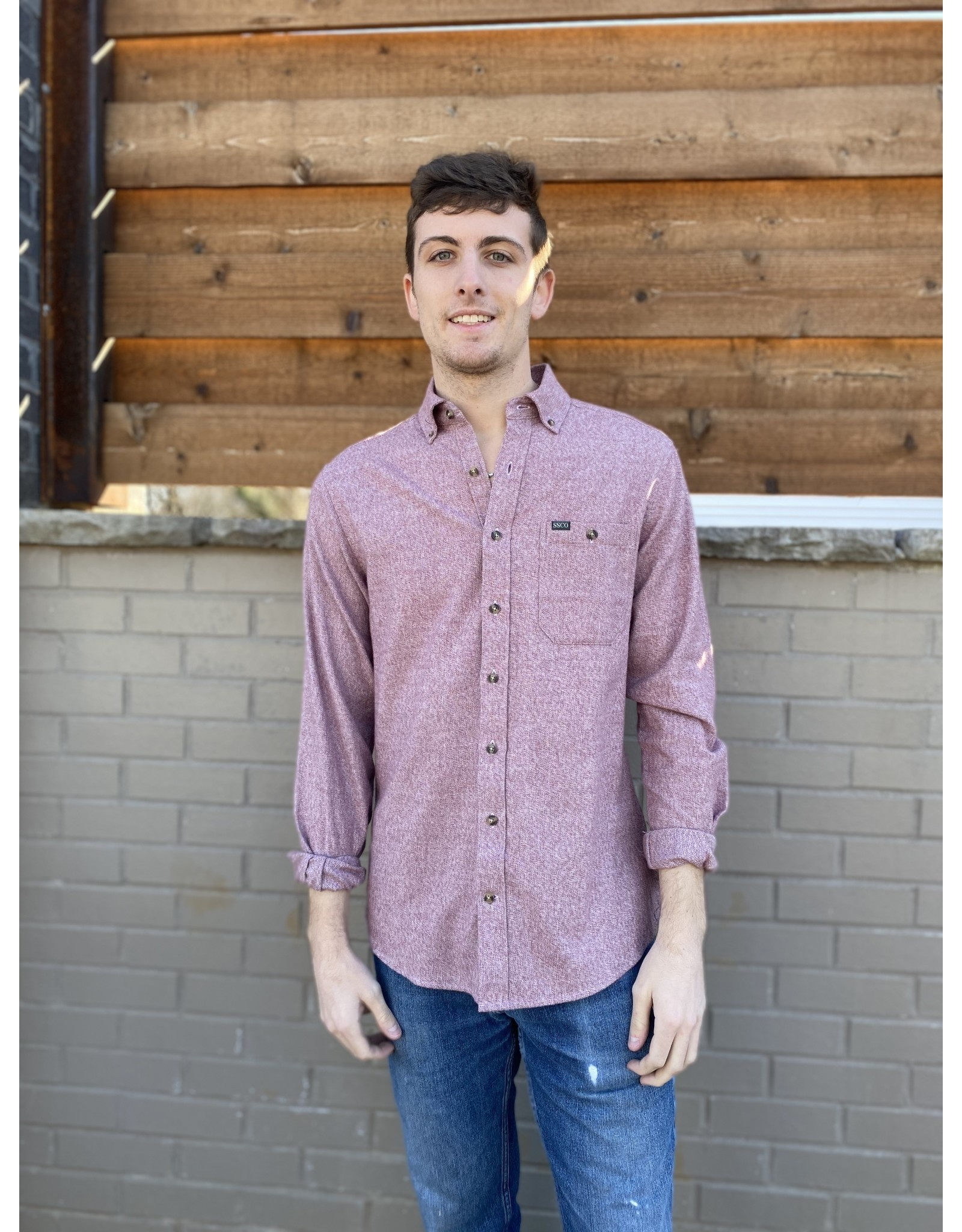 Southern Shirt Co. Southern Shirt Co. Oakhill Melange Flannel