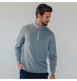 The Normal Brand The Normal Brand Seamed Performance Quarter Zip