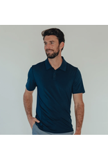 The Normal Brand The Normal Brand Cross-Back Seamed Performance Polo