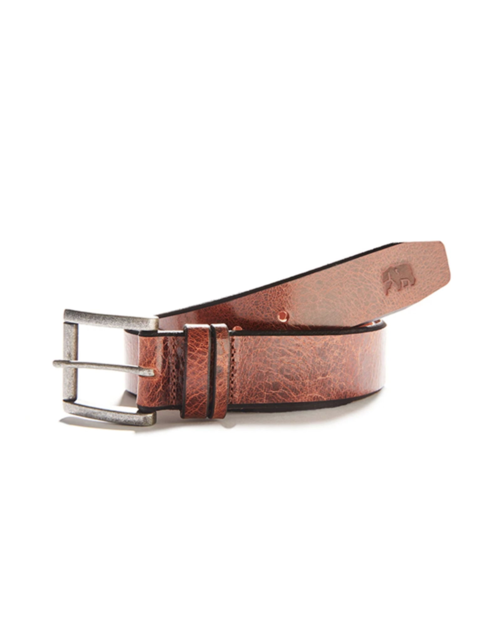 The Normal Brand The Normal Brand Vintage Glazed Leather Belt