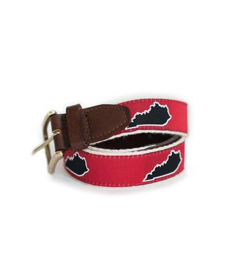 State Traditions State Traditions Kentucky Red Gameday Belt