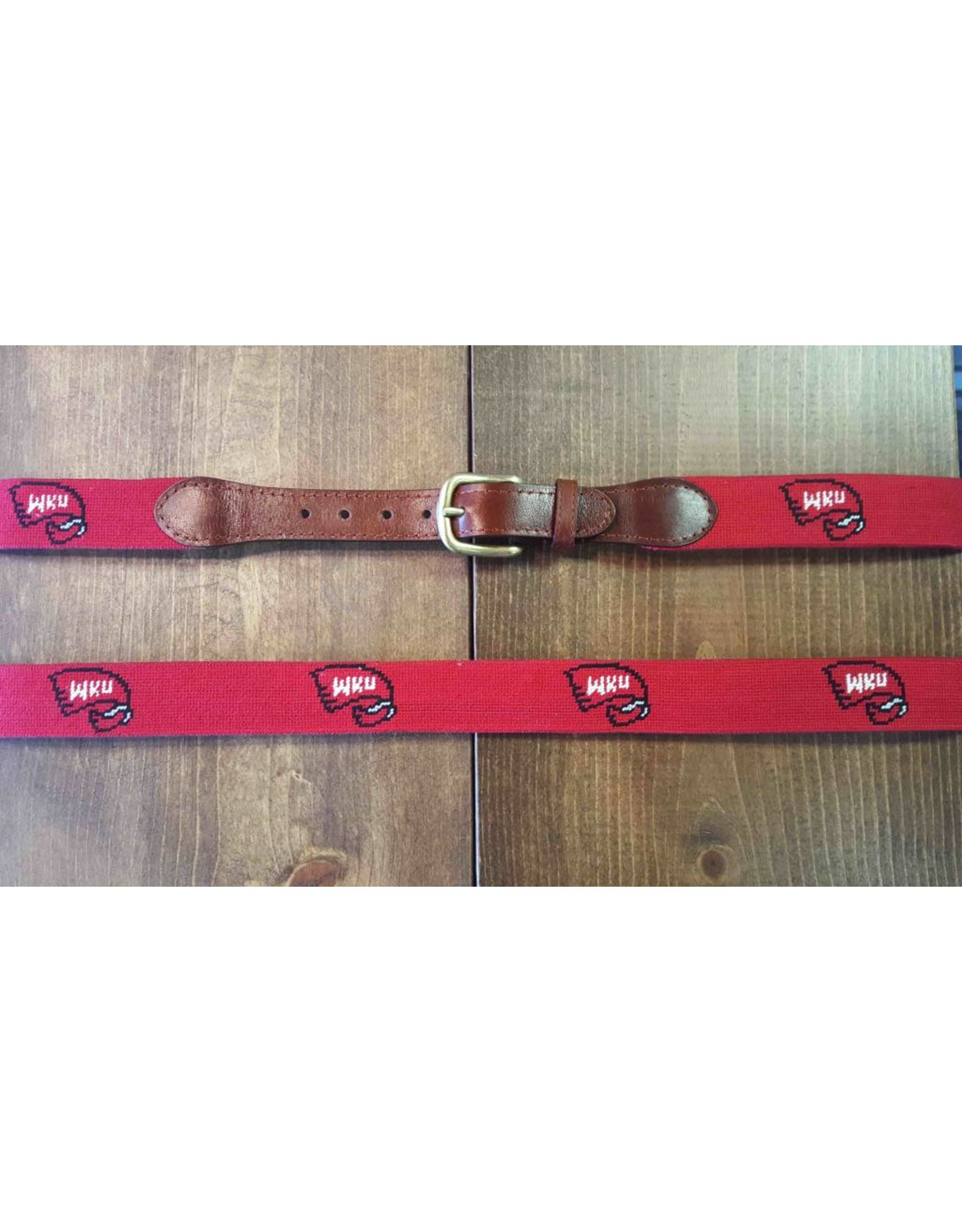 Smathers and Branson Smathers and Branson WKU Belt in Red