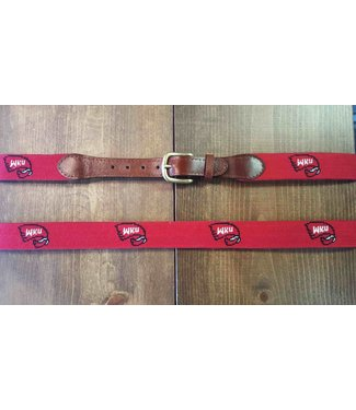 Smathers and Branson WKU Belt in Red