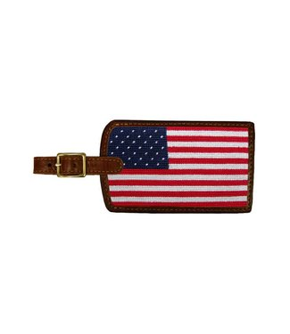 Smathers and Branson Big American Flag Luggage Tag