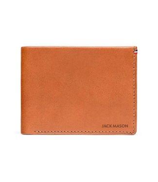 Jack Mason Jack Mason Tan Leather Bifold Wallet