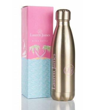 Lauren James Lauren James Gold Water Bottle