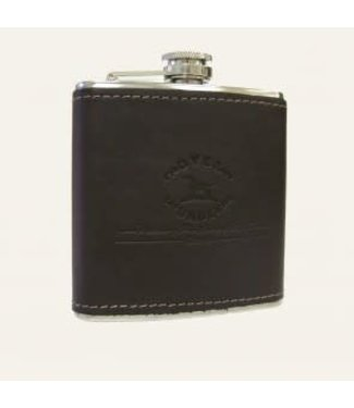 Over Under Over Under Leather Flask