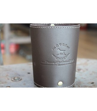 Over Under Over Under Leather Koozie