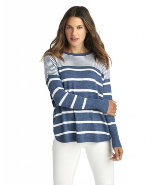 Vineyard Vines Vineyard Vines Striped Relaxed Cotton Sweater