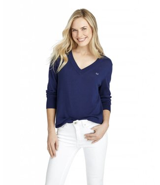 Vineyard Vines Vineyard Vines Heritage Cotton V-Neck Sweater