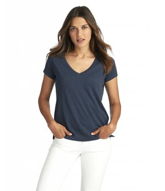 Vineyard Vines Vineyard Vines S/S Heathered V-Neck