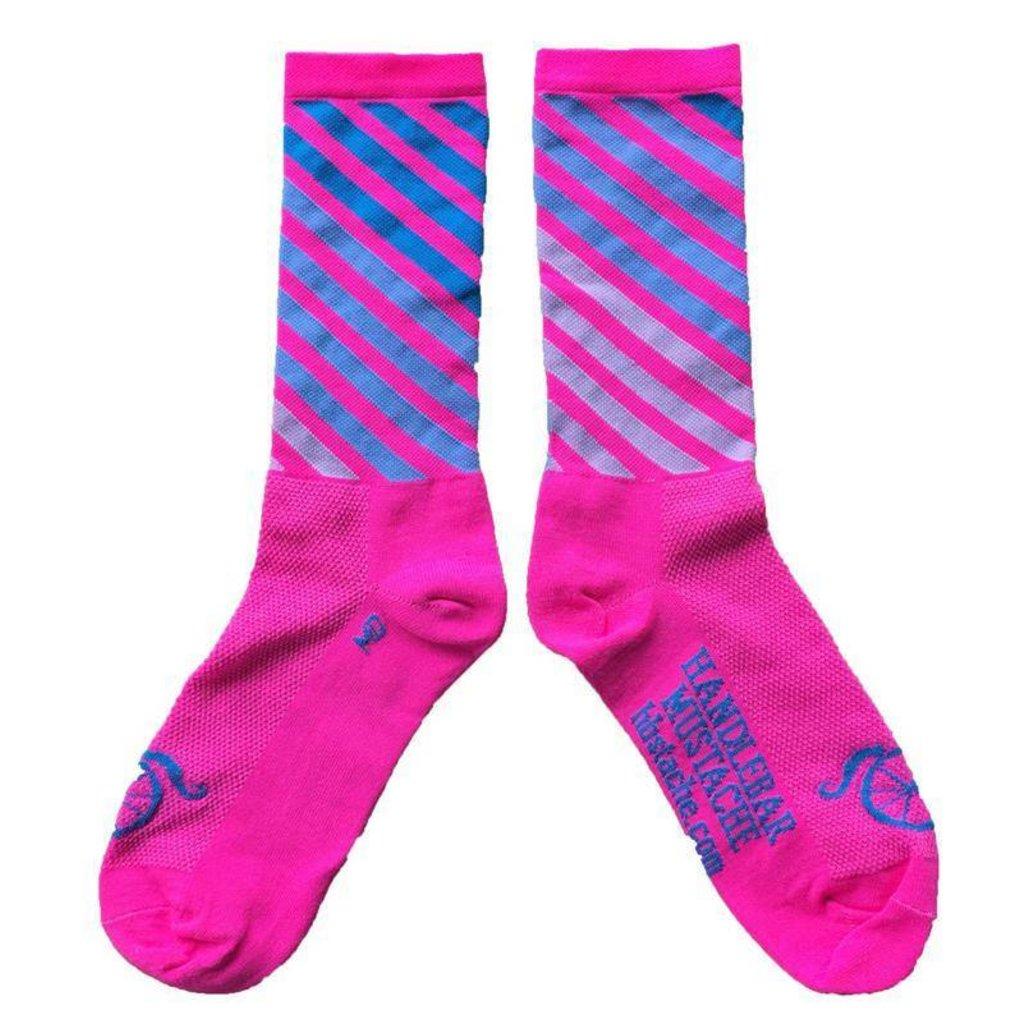 Handlebar Mustache Summer Socks