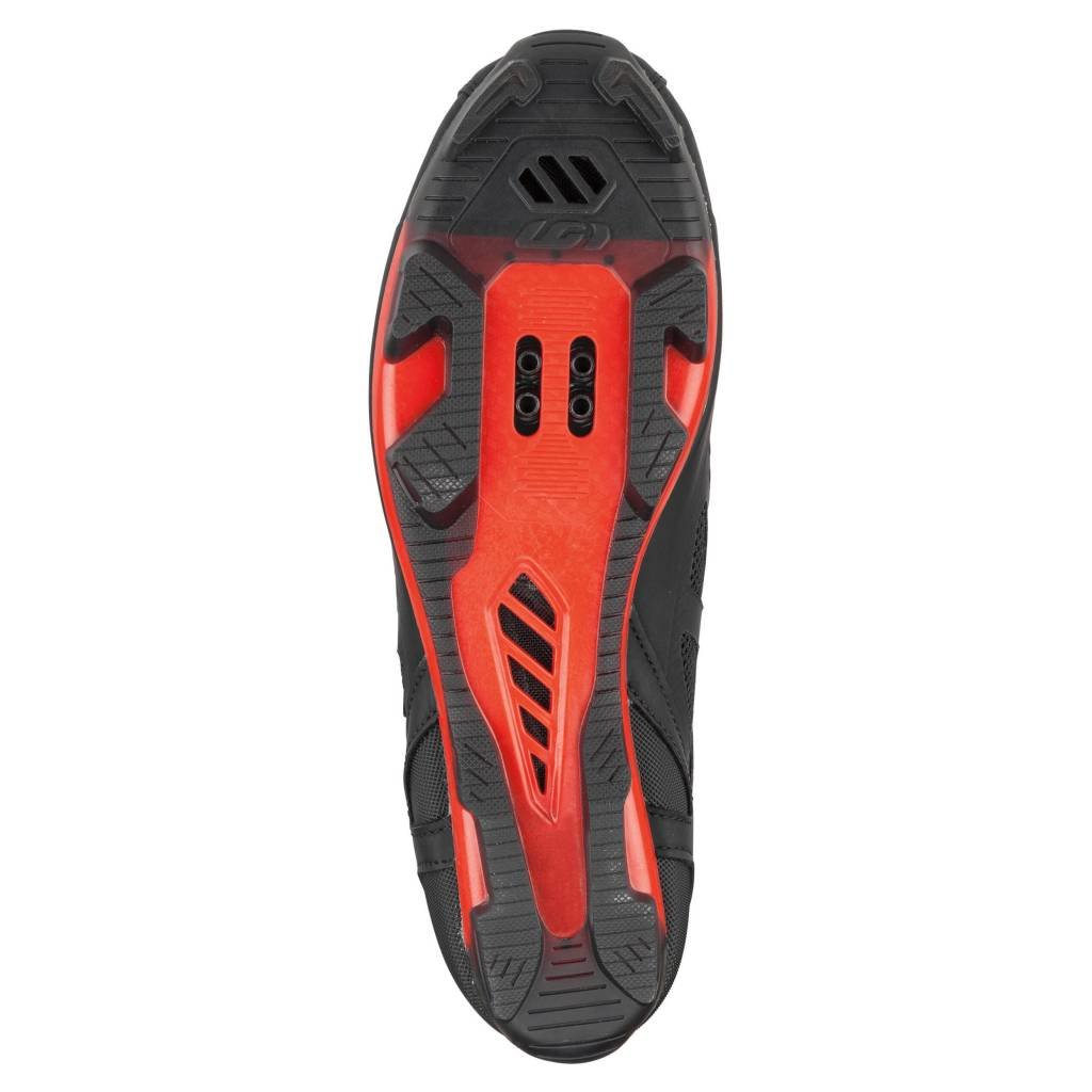 LOUIS GARNEAU MULTI AIR FLEX SHOE BLK/RED