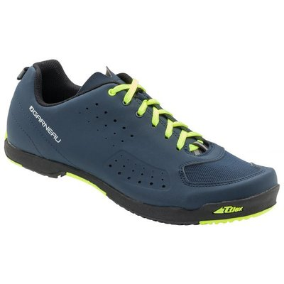 LOUIS GARNEAU URBAN CYCLING SHOE NAVY/ACID
