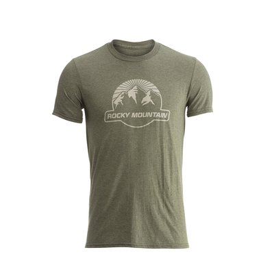 Rocky Mountain SUNSET T-SHIRT ARMY