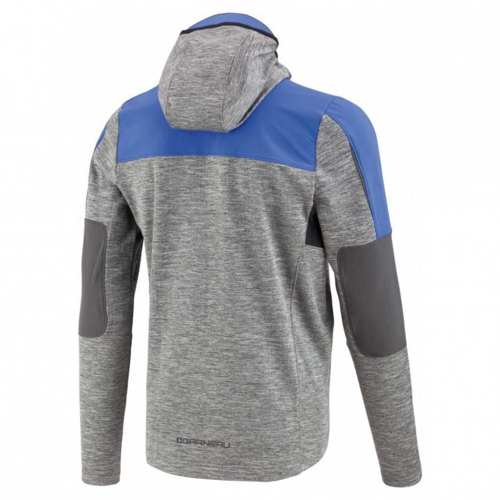 LOUIS GARNEAU MEN'S MID SEASON HOODIE GREY/BLUE