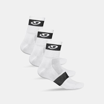 COMP RACER 3-PACK WHITE/BLACK