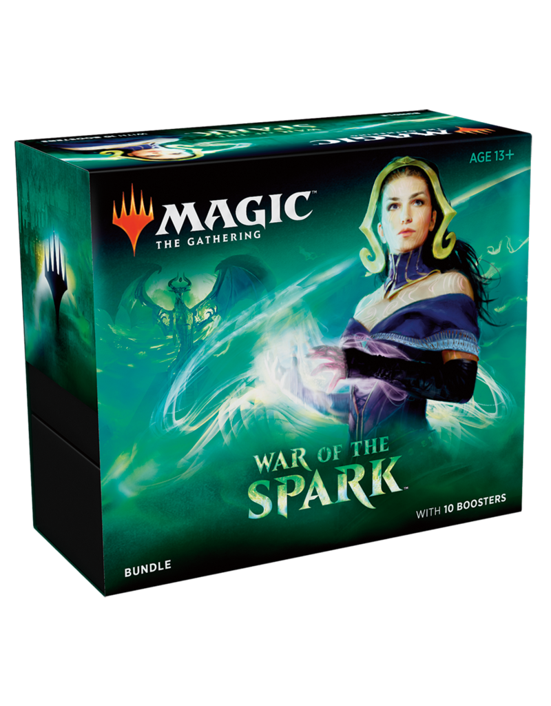 Magic the Gathering MTG War of the Spark Bundle