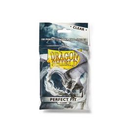 Dragon Shield DRAGON SHIELD PERFECT FIT CLEAR 100CT BAG