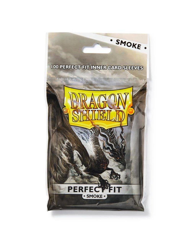 Dragon Shield Dragon Shield Perfect Fit Smoke 100ct Bag