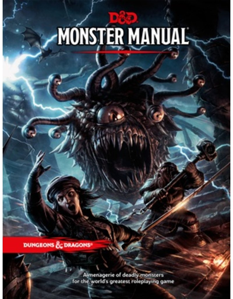 D&D 5TH Edition Monster Manual
