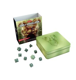 D&D 5TH Edition Tomb of Annihilation Dice Set