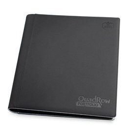 Ultimate Guard 12 Pocket Quadrow Porfolio Xenoskin Black