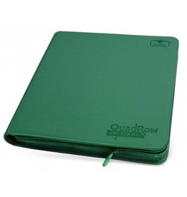 Ultimate Guard 12 Pocket Quadrow Zip Folio Xenoskin Green