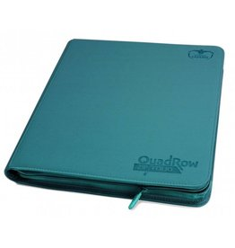 Ultimate Guard 12 Pocket Quadrow Zipfolio Xenoskin Petrol