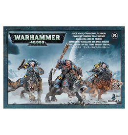 Warhammer 40K Warhammer 40k: Space Wolves Thunderwolf Cavalry