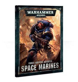 Warhammer 40K Warhammer 40k: Codex Adeptus Astartes Space Marines Book