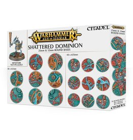 Warhammer Warhammer Age of Sigmar: Shattered Dominion 25mm & 32mm Round Bases
