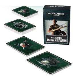 Warhammer 40K Warhammer 40k: Datacards: Astra Militarum