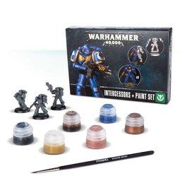 Warhammer 40K Warhammer 40K: Intercessors & Paint Set