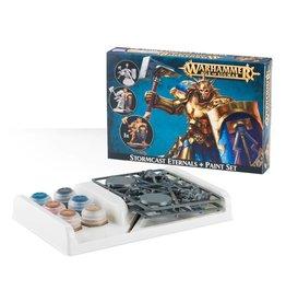 Warhammer Warhammer: Age of Sigmar Stormcast Eternals + Paint Set
