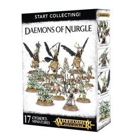 Games Workshop Warhammer Age of Sigmar: Start Collecting! Daemons of Nurgle