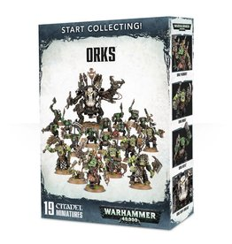 Games Workshop Warhammer 40K: Start Collecting! Orks