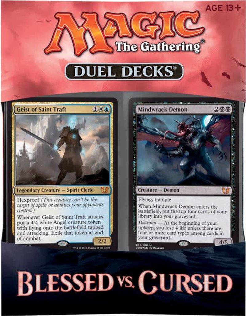 MTG Duel Decks: Blessed Vs. Cursed
