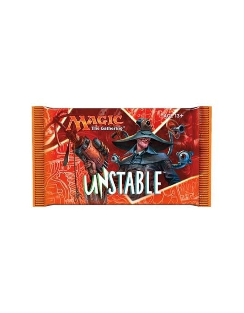 Magic the Gathering MTG Unstable Booster Pack