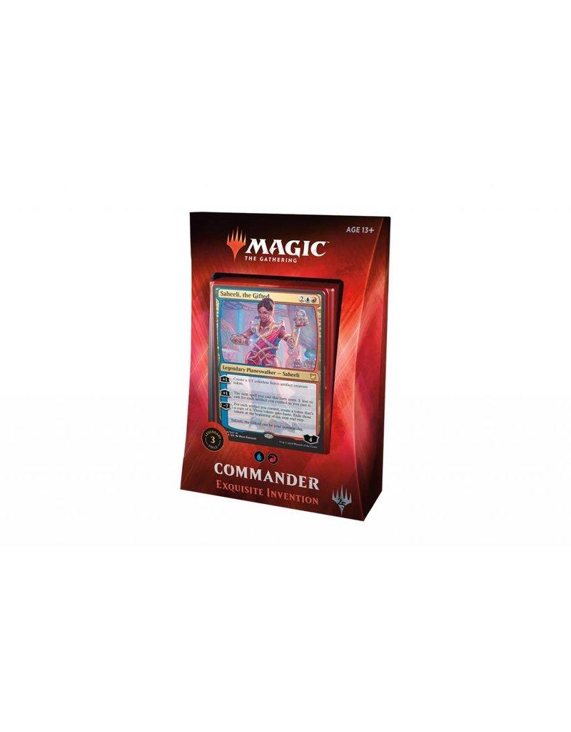 Magic the Gathering Commander 2018 Exquisite Invention