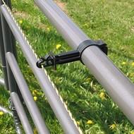 Zareba Systems Zareba Tube Clamp Insulator Black 10 ct.