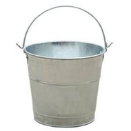 Miller Manufacturing Little Giant Galvanized Pail