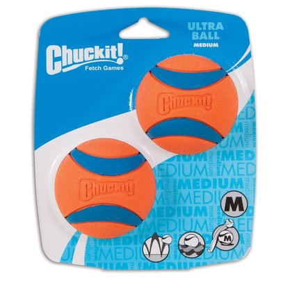 Chuckit! Medium Ball Ultra 2-pack