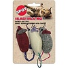 ETHICAL Colored Burlap Mice