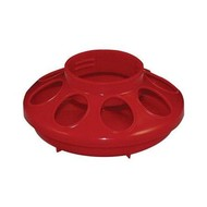 Harris Farms Chick Feeder Base 1 qt. Red