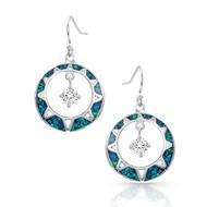 Montana Silversmiths Montana Silversmith Stay True Opal Earrings