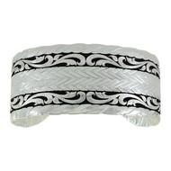 Montana Silversmiths River Reflections Cuff Bracelet